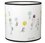 Quentin blake childrens lampshade