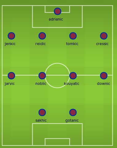 Hammers line up