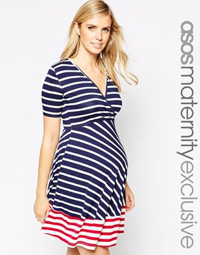 Summer maternity dress from asos